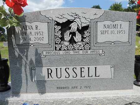 RUSSELL, ALVA R. - Pike County, Ohio | ALVA R. RUSSELL - Ohio Gravestone Photos