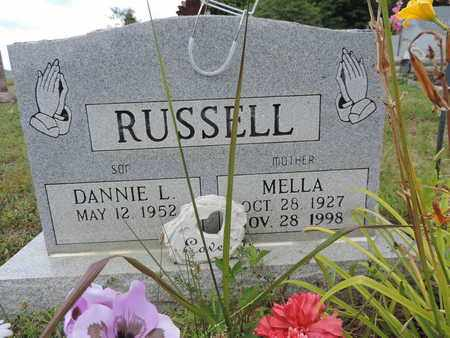 RUSSELL, DANNIE L. - Pike County, Ohio | DANNIE L. RUSSELL - Ohio Gravestone Photos