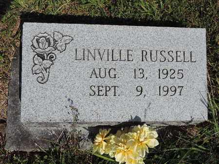 RUSSELL, LINVILLE - Pike County, Ohio | LINVILLE RUSSELL - Ohio Gravestone Photos