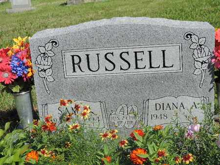 RUSSELL, SAM H - Pike County, Ohio | SAM H RUSSELL - Ohio Gravestone Photos