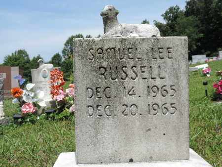 RUSSELL, SAMUEL LEE - Pike County, Ohio | SAMUEL LEE RUSSELL - Ohio Gravestone Photos