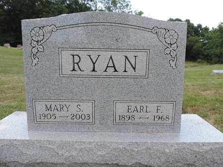 RYAN, EARL F. - Pike County, Ohio | EARL F. RYAN - Ohio Gravestone Photos