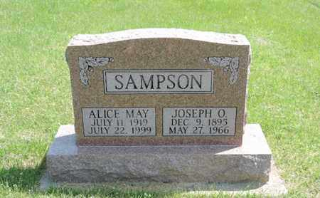 SAMPSON, ALICE MAY - Pike County, Ohio | ALICE MAY SAMPSON - Ohio Gravestone Photos
