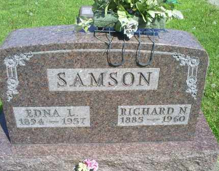 SAMSON, RICHARD N. - Pike County, Ohio | RICHARD N. SAMSON - Ohio Gravestone Photos