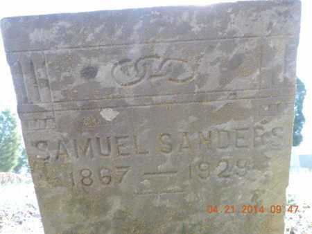 SANDERS, SAMUEL - Pike County, Ohio | SAMUEL SANDERS - Ohio Gravestone Photos