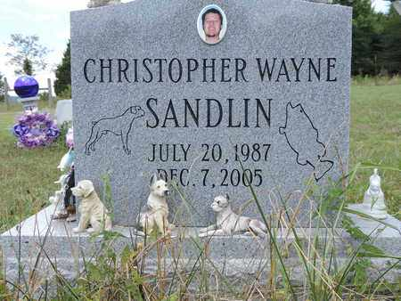 SANDLIN, CHRISTOPHER - Pike County, Ohio | CHRISTOPHER SANDLIN - Ohio Gravestone Photos