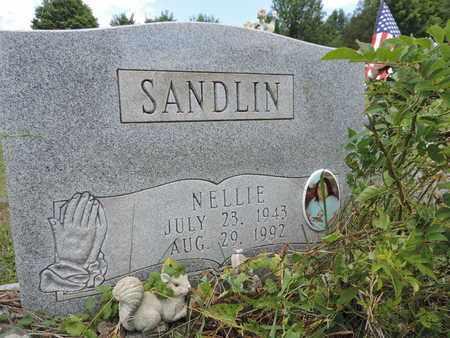 SANDLIN, NELLIE - Pike County, Ohio | NELLIE SANDLIN - Ohio Gravestone Photos