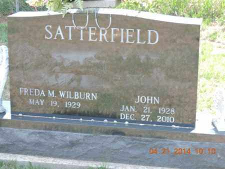 SATTERFIELD, JOHN - Pike County, Ohio | JOHN SATTERFIELD - Ohio Gravestone Photos