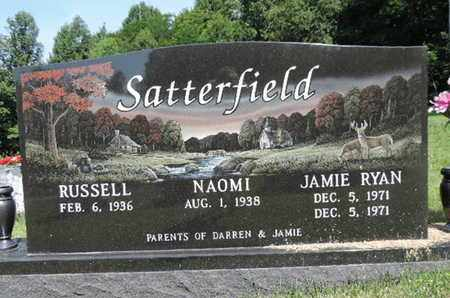 SATTERFIELD, RUSSELL - Pike County, Ohio | RUSSELL SATTERFIELD - Ohio Gravestone Photos