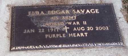 SAVAGE, ELBA - Pike County, Ohio | ELBA SAVAGE - Ohio Gravestone Photos