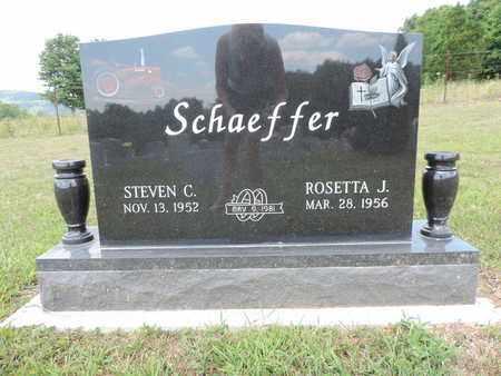 SCHAEFFER, ROSETTA J. - Pike County, Ohio | ROSETTA J. SCHAEFFER - Ohio Gravestone Photos