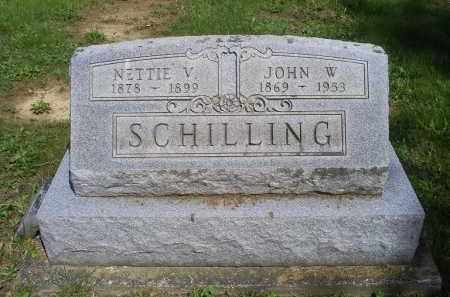 SCHILLING, NETTIE V. - Pike County, Ohio | NETTIE V. SCHILLING - Ohio Gravestone Photos