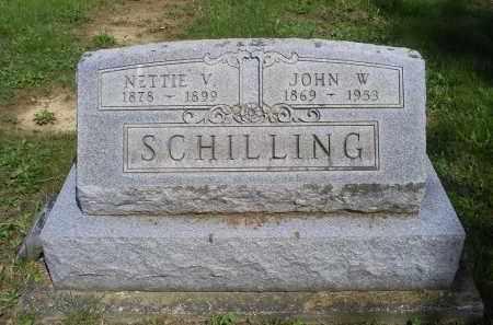SCHILLING, JOHN W. - Pike County, Ohio | JOHN W. SCHILLING - Ohio Gravestone Photos