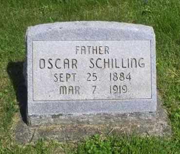 SCHILLING, OSCAR - Pike County, Ohio | OSCAR SCHILLING - Ohio Gravestone Photos
