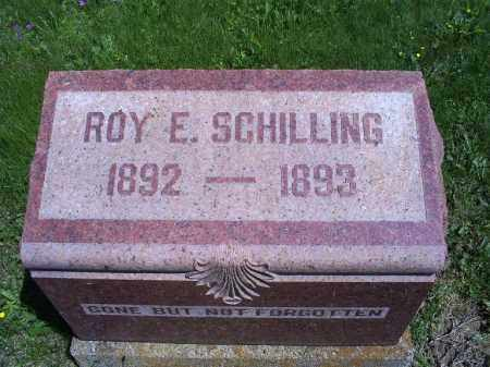 SCHILLING, ROY E. - Pike County, Ohio | ROY E. SCHILLING - Ohio Gravestone Photos