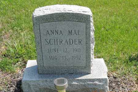 SCHRADER, ANNA MAE - Pike County, Ohio | ANNA MAE SCHRADER - Ohio Gravestone Photos