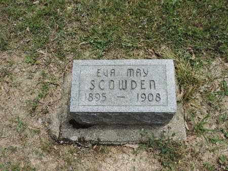 SCOWDEN, EVA MAY - Pike County, Ohio | EVA MAY SCOWDEN - Ohio Gravestone Photos