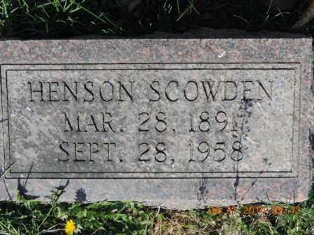 SCOWDEN, HENSON - Pike County, Ohio | HENSON SCOWDEN - Ohio Gravestone Photos