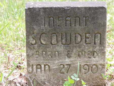 SCOWDEN, INFANT - Pike County, Ohio | INFANT SCOWDEN - Ohio Gravestone Photos