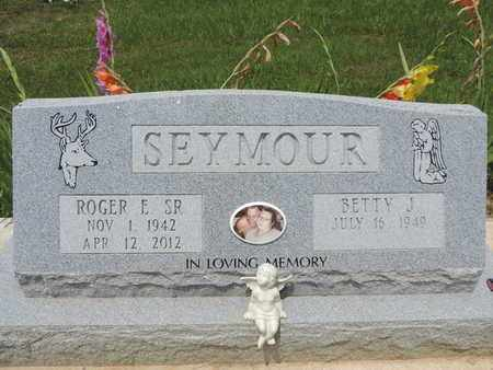 SEYMOUR, ROGER E. SR. - Pike County, Ohio | ROGER E. SR. SEYMOUR - Ohio Gravestone Photos