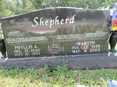 SHEPHERD, MARVIN - Pike County, Ohio | MARVIN SHEPHERD - Ohio Gravestone Photos