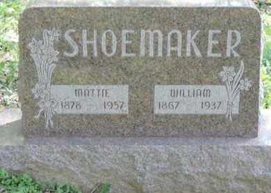 SHOEMAKER, MATTIE - Pike County, Ohio | MATTIE SHOEMAKER - Ohio Gravestone Photos