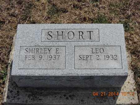 SHORT, LEO - Pike County, Ohio | LEO SHORT - Ohio Gravestone Photos
