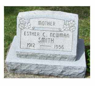 NEWMAN SMITH, ESTHER C. - Pike County, Ohio | ESTHER C. NEWMAN SMITH - Ohio Gravestone Photos