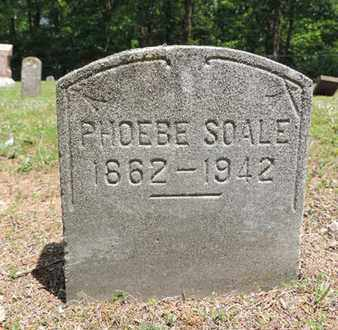 SOALE, PHOEBE - Pike County, Ohio | PHOEBE SOALE - Ohio Gravestone Photos