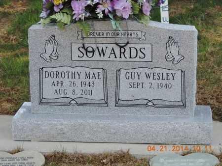 SOWARDS, GUY WESLEY - Pike County, Ohio | GUY WESLEY SOWARDS - Ohio Gravestone Photos