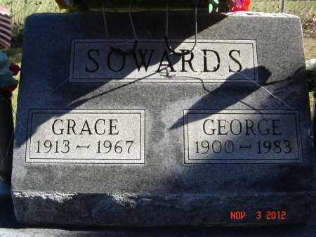 SOWARDS, GRACE - Pike County, Ohio | GRACE SOWARDS - Ohio Gravestone Photos
