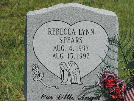 SPEARS, REBECCA LYNN - Pike County, Ohio | REBECCA LYNN SPEARS - Ohio Gravestone Photos
