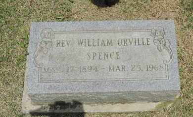 SPENCE, WILLIAM - Pike County, Ohio | WILLIAM SPENCE - Ohio Gravestone Photos
