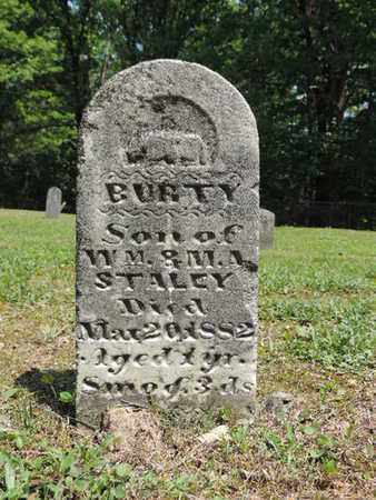 STALEY, BURTY - Pike County, Ohio | BURTY STALEY - Ohio Gravestone Photos