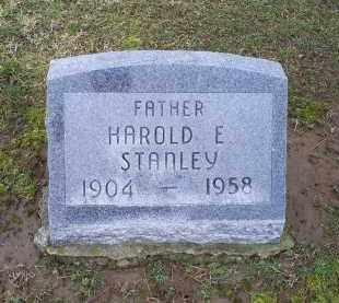STANLEY, HAROLD E. - Pike County, Ohio | HAROLD E. STANLEY - Ohio Gravestone Photos