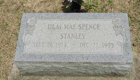 SPENCE STANLEY, ULAI MAE - Pike County, Ohio | ULAI MAE SPENCE STANLEY - Ohio Gravestone Photos