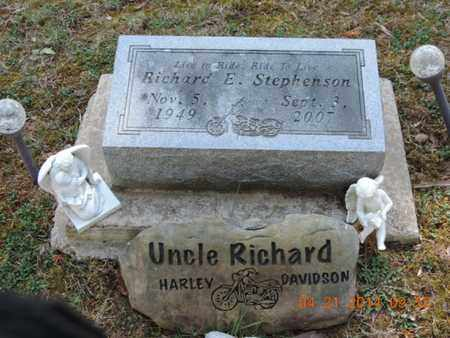 STEPHENSON, RICHARD E - Pike County, Ohio | RICHARD E STEPHENSON - Ohio Gravestone Photos
