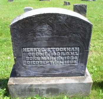 STOCKHAM, HENRY C. - Pike County, Ohio | HENRY C. STOCKHAM - Ohio Gravestone Photos