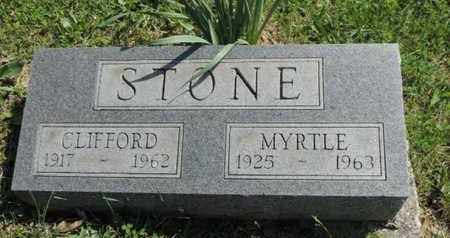 STONE, CLIFFORD - Pike County, Ohio | CLIFFORD STONE - Ohio Gravestone Photos