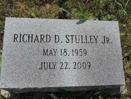 STULLEY, RICHARD D. - Pike County, Ohio | RICHARD D. STULLEY - Ohio Gravestone Photos