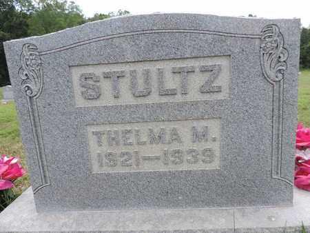 STULTZ, THELMA M. - Pike County, Ohio | THELMA M. STULTZ - Ohio Gravestone Photos