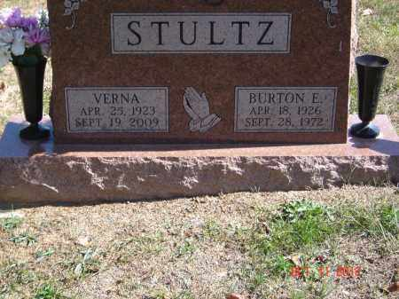 STULTZ, VERNA - Pike County, Ohio | VERNA STULTZ - Ohio Gravestone Photos