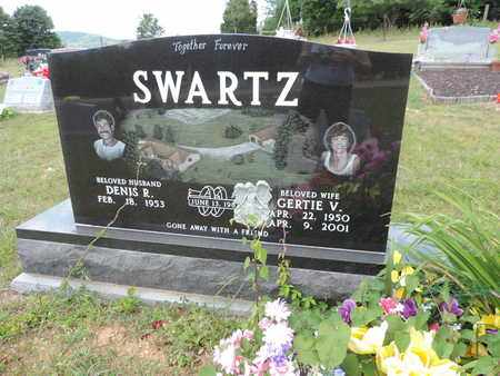 SWARTZ, GERTIE V. - Pike County, Ohio | GERTIE V. SWARTZ - Ohio Gravestone Photos