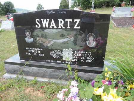 SWARTZ, GERTIE V. - Pike County, Ohio | GERTIE V. SWARTZ - Ohio Gravestone Photos
