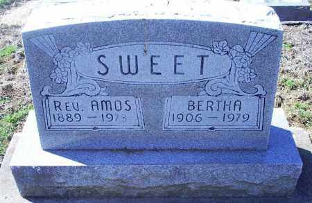 SWEET, BERTHA CATHARINE - Pike County, Ohio | BERTHA CATHARINE SWEET - Ohio Gravestone Photos