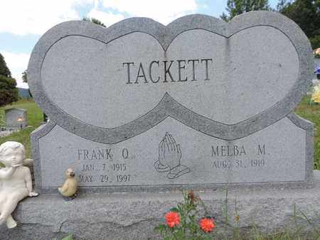 TACKETT, MELBA M. - Pike County, Ohio | MELBA M. TACKETT - Ohio Gravestone Photos