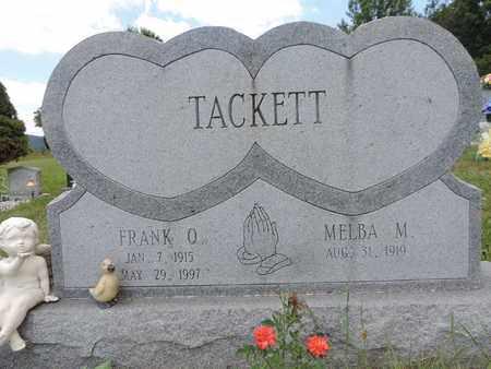 TACKETT, MELBA M. - Pike County, Ohio | MELBA M. TACKETT - Ohio Gravestone Photos