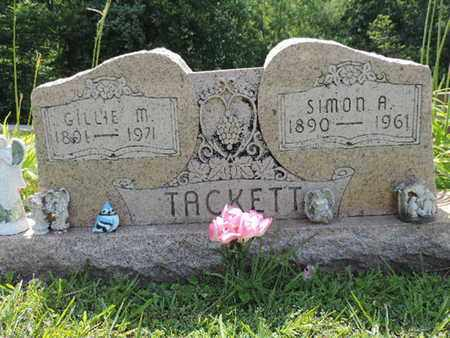 TACKETT, SIMON A. - Pike County, Ohio | SIMON A. TACKETT - Ohio Gravestone Photos
