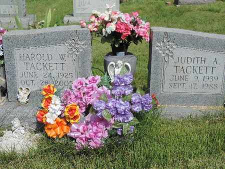 TACKETT, JUDITH A. - Pike County, Ohio | JUDITH A. TACKETT - Ohio Gravestone Photos