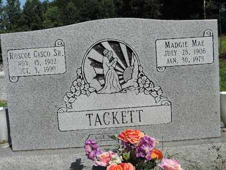 TACKETT, ROSCOE CISCO SR. - Pike County, Ohio | ROSCOE CISCO SR. TACKETT - Ohio Gravestone Photos